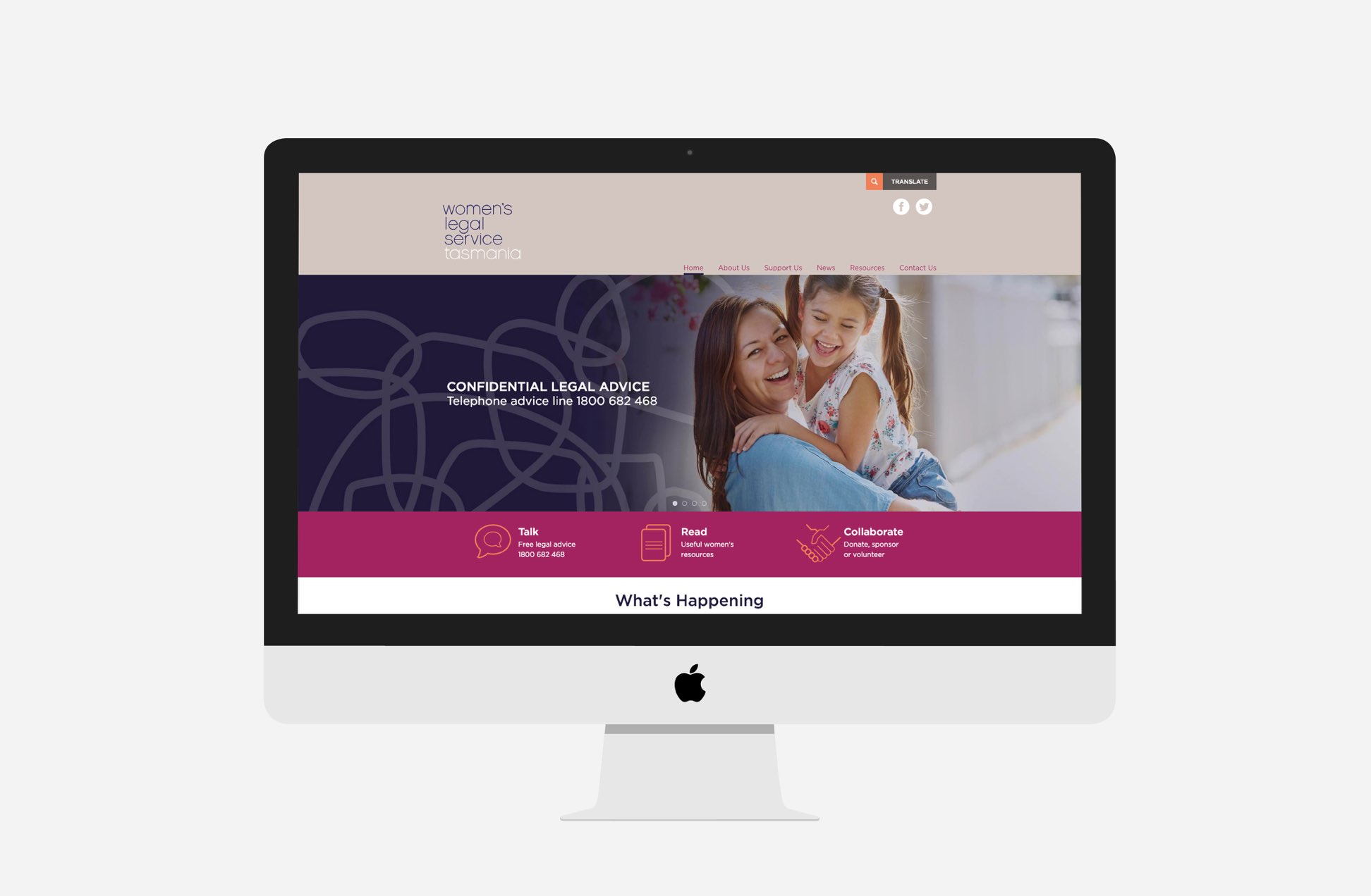Women's Legal Centre Tasmania - home page
