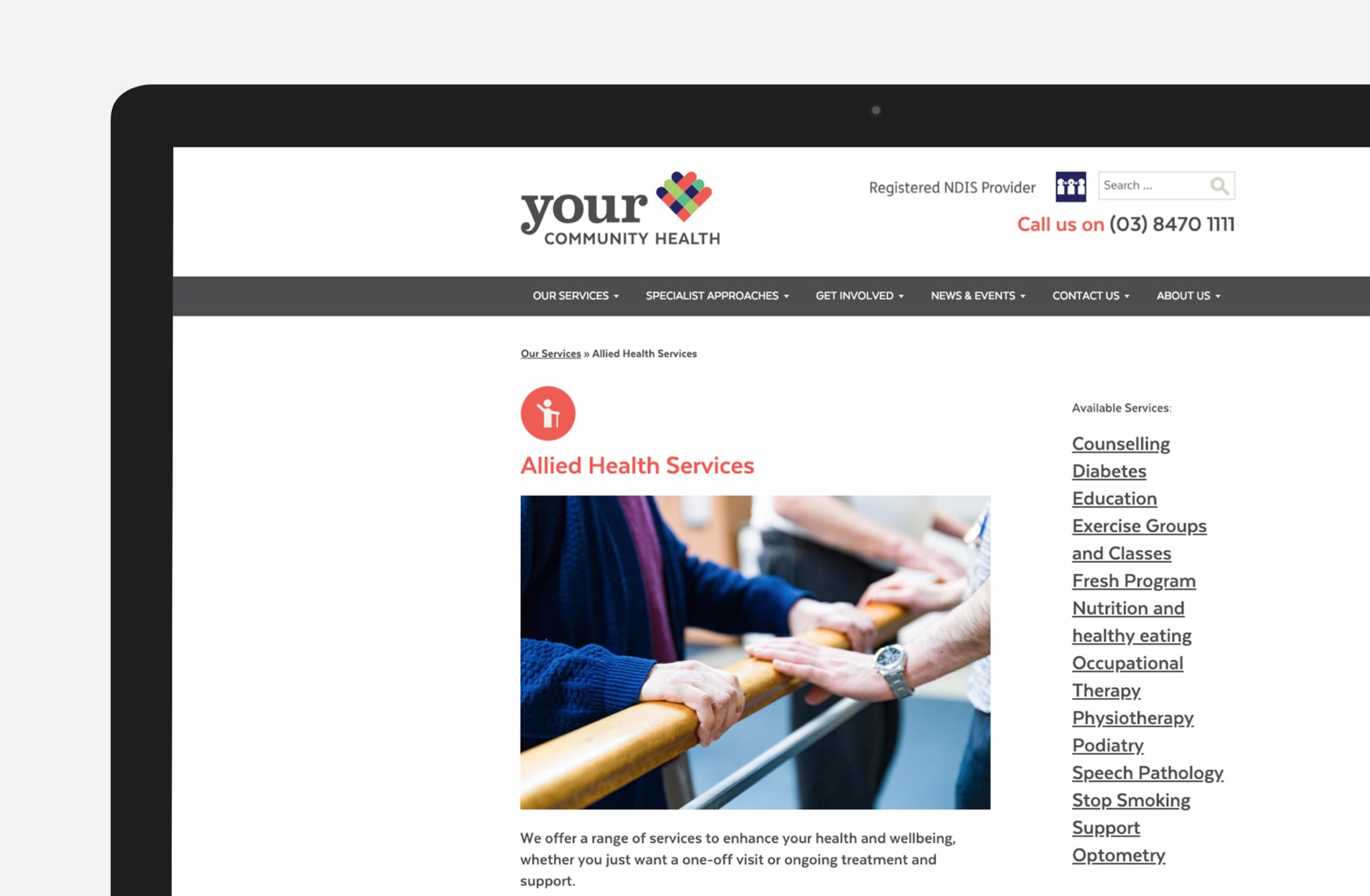 Your Community Health - service sector